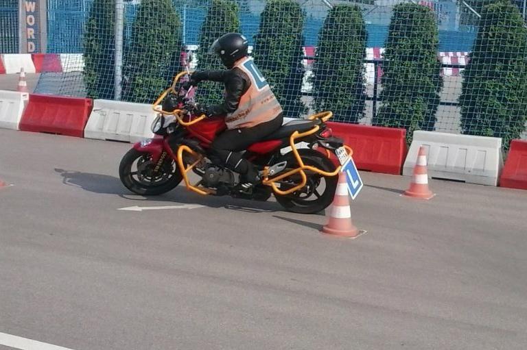 Kurs namotocykle