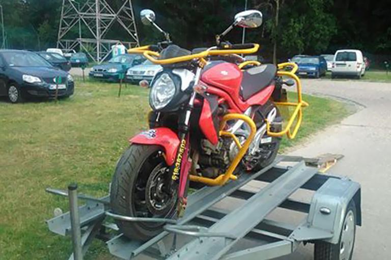Transport motocykli iakcesoria