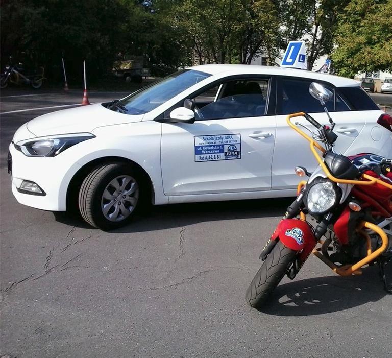 nauka jazdy wWarszawie - ośrodek szkolenia kierowców